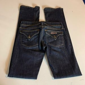 Hudson jeans Beth midrise baby boot size 24